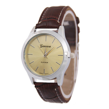 New Fashion Women Retro Leather Bracelet Wristwatch